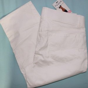 Womens Riders by Lee Mid Rise Capris Size 6